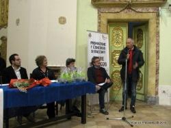Il discorso del Sindaco di Cingoli, Filippo Saltamartini