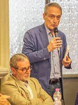 Jesi, Palazzo dei Convegni, sabato 4 giugno 2016 - Presentazione della Ass. Culturale Euterpe - Da sx: Franco Duranti, Assessore alla Cultura Luca Butini