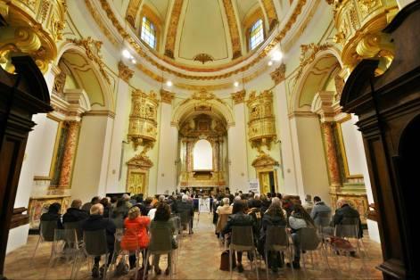 L'auditorium. Foto di Pietro Cerioni