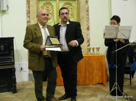 Stefano Esuperanzi, vincitore del 5° Premio