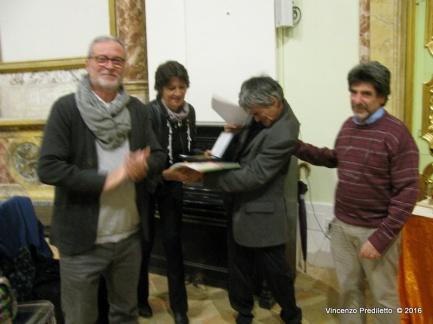 Luciano Pellegrini, vincitore del 4° Premio