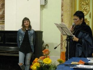 Angela Orazietti, vincitrice del 1° Premio