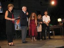 Tiziana Bonifazi, Fabio Corvatta (Presidente Centro Nazionale Studi Leopardiani), Diana Iaconetti, Nuccia Martire, Luca Pennacchioni