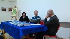 """Presentazione del libro """"La porta misteriosa"""" di Andrea Ansevini. Da sx: Elena Coppari, Andrea Ansevini ed Elvio Angeletti"""
