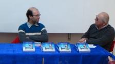 """Presentazione del libro """"La porta misteriosa"""" di Andrea Ansevini. A sinistra Andrea Ansevini, a destra Elvio Angeletti"""