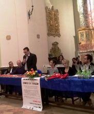 Lorenzo Spurio, Presidente della Ass. Euterpe, presenta la premiazione