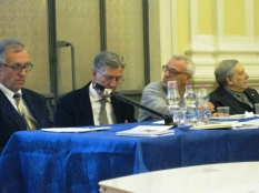 Da sinistra Marco Palmonella, Camillo Nardini, Vincenzo Prediletto, Armando Ginesi