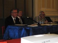 Da sinistra Marco Palmonella, Camillo Nardini, Vincenzo Prediletto,