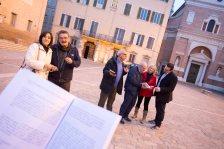 Da sx: Susanna Polimanti, Oscar Sartarelli, Elvio Angeletti, Alessandra Montali, Lorenzo Spurio