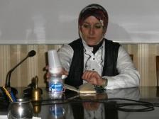 La giornalista italo-siriana Asmae Dachan