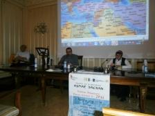 Lorenzo Spurio (Presidente Ass. Euterpe) ed Asmae Dachan