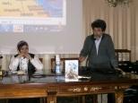 La giornalista Asmae Dachan e Stefano Vignaroli (Consigliere della Ass. Euterpe)