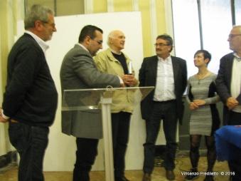 L'Ass. Culturale Euterpe conferisce a Marco Bordini la targa di Socio Onorario