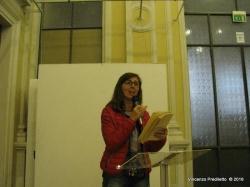 Francesca Cirilli legge una poesia del padre Livio Cirilli