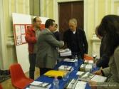 Lorenzo Spurio con l'Assessore alla Cultura Luca Butini