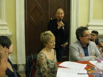 Jesi, Palazzo dei Convegni, sabato 4 giugno 2016 - Presentazione della Ass. Culturale Euterpe - Marialuisa Quaglieri, responsabile dello IOM Vallesina