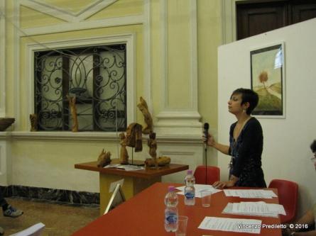 Jesi, Palazzo dei Convegni, sabato 4 giugno 2016 - Presentazione della Ass. Culturale Euterpe - Gioia Casale