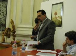 Jesi, Palazzo dei Convegni, sabato 4 giugno 2016 - Presentazione della Ass. Culturale Euterpe - Lorenzo Spurio