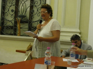 Jesi, Palazzo dei Convegni, sabato 4 giugno 2016 - Presentazione della Ass. Culturale Euterpe - Emanuela Meldolesi