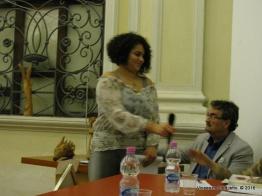 Jesi, Palazzo dei Convegni, sabato 4 giugno 2016 - Presentazione della Ass. Culturale Euterpe - Daniela Pellino