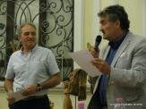 Jesi, Palazzo dei Convegni, sabato 4 giugno 2016 - Presentazione della Ass. Culturale Euterpe - Da sx: Giancarlo Giaccaglini e Oscar Sartarelli