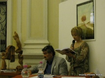 Jesi, Palazzo dei Convegni, sabato 4 giugno 2016 - Presentazione della Ass. Culturale Euterpe - Oscar Sartarelli e Alessandra Montali