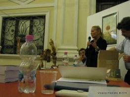 Jesi, Palazzo dei Convegni, sabato 4 giugno 2016 - Presentazione della Ass. Culturale Euterpe - Marialuisa Quaglieri, responsabile IOM Vallesina