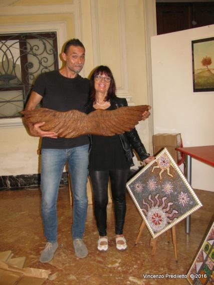 Jesi, Palazzo dei Convegni, sabato 4 giugno 2016 - Presentazione della Ass. Culturale Euterpe - Leonardo Longhi e Liliana Battaglia