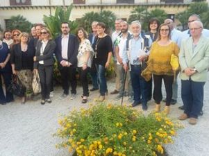 PALERMO - Villa Niscemi - 11-06-2016 - Reading poetico - Alcuni dei poeti presenti