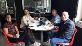 Da sx: Gioia Casale, Morena Oro, Nazzareno Tiberi, Salvatore Greco