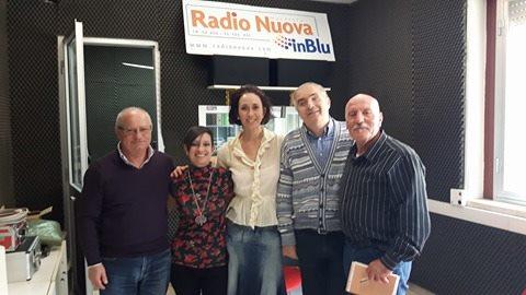Da sx: Elvio Angeletti, Gioia Casale, Morena Oro, Nazzareno Tiberi, Salvatore Greco