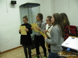 Le ragazze della Scuola Spontini di Agugliano