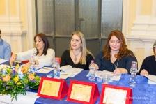 Parte della Commissione di Giuria. Da sx: Susanna Polimanti, Alessandra Prospero e Valentina Meloni