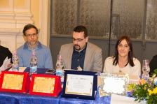 Parte della Commissione di Giuria. Da sx: Michela Zanarella, Giuseppe Guidolin, Lorenzo Spurio, Susanna Polimanti