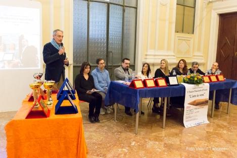 L'Assessore alla Cultura Luca Butini durante il suo intervento