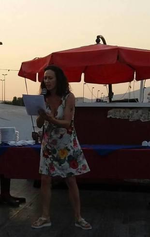 Morena Oro, vincitrice del Premio della Critica alla Playa Rosa Poetry Slam